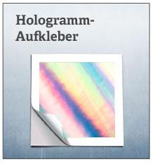 Hologramm Aufkleber