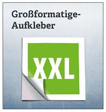 XXL-Aufkleber