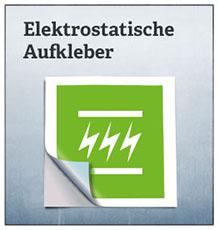 Elektrostatische Aufkleber