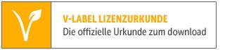 V-Label Urkunde