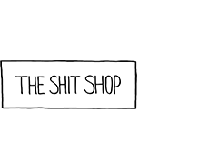 the shit shop logo