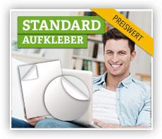Standard-Aufkleber aus Papier