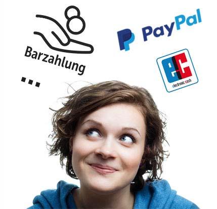 Zahlungsmöglichkeiten bei DeineStadtKlebt.de