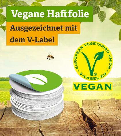 Offsetdruck - Vegane Haftfolie