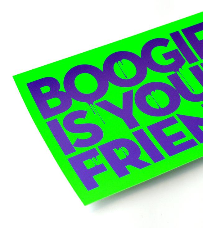 Sticker mit Sonderfarben