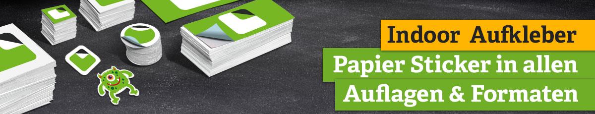 Haftpapier - Preiswerte Sticker aus Papier