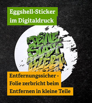 Eggshell-Sticker