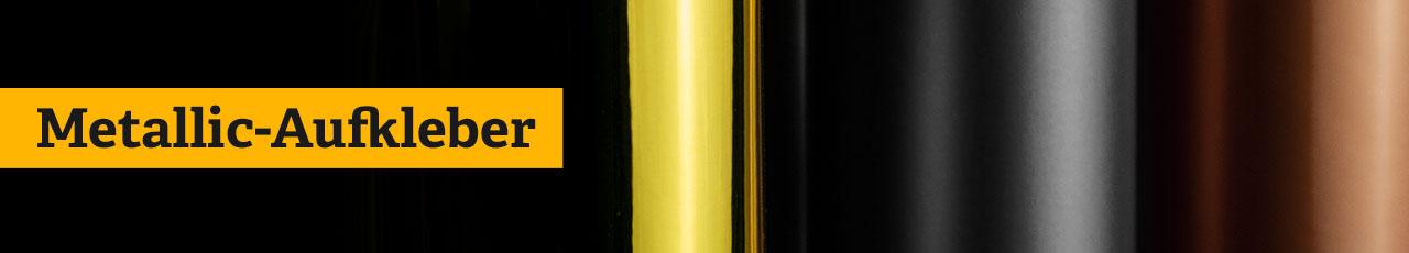 Metallic Sticker, Metallic Aufkleber, Metallic Etiketten, Metallic Folien, Metall Sticker, Metall Aufkleber, Metall Folien