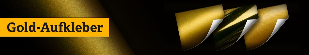 Gold Sticker, Gold Aufkleber, Gold Etiketten, Gold Folien