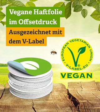 Vegane Sticker