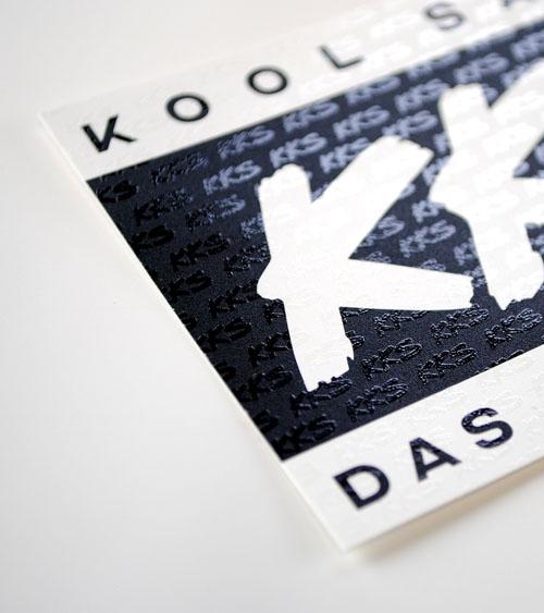Sticker mit partiellem UV-Lack
